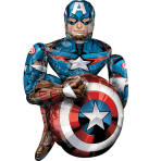 Airwalker Marvel Avengers Captain America Foil Balloon P93 Packaged