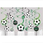 12 Swirl Decorations Goal Getter