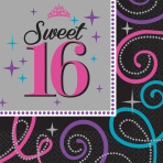 16 Napkins Sweet 16 33 x 33 cm