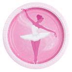 8 Plates Ballet 23 cm