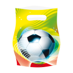 6 Party Bags Soccer Party