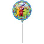 "9"" ""Teletubbies"" Foil Balloon Round, A20, bulk, 23cm"