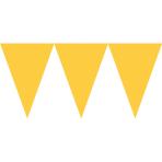 Pennant Banner Sunshine Yellow Paper 457 x 17.7 cm