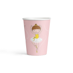 8 Cups Little Dancer Paper 250 ml
