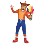 Adult Costume Crash Bandicoot Size Std
