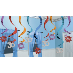 15 Swirl Decorations The PartyContinues 30 61 cm