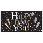 Foil Banner Happy New Year 165.1 x 85 cm