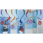 15 Swirl Decorations The PartyContinues 50 61 cm