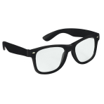 Fun Shades Nerd Black Plastic 14.6 x 5 cm
