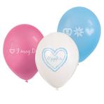 """6 Latex Balloons Oktoberfest 22.8 cm/9"""""""