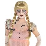 Creepy Doll Braided Wig - One size