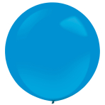 "4 Latex Balloons Decorator Standard Bright Royal Blue 61 cm / 24"""