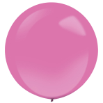 "4 Latex Balloons Decorator Fashion Hot Pink 61 cm / 24"""