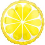 Standard Tropical Lemon Foil Balloon S40 Packaged