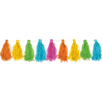 Tassel Garland Multicolour 3 m