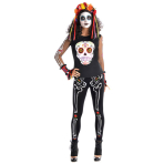 Ladies' Leggings Day of the Dead One Size