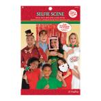 Photo Booth Kit Christmas Paper / Plastic 21 Pieces 91.4 x 91.4 cm / 26.2 x 34.9 cm