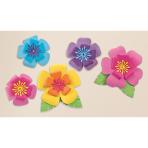 5 Cutouts Hibiscus Paper 40.6 cm / 17.7 cm