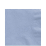 50 Lunch Napkins Pastel Blue 33x33cm