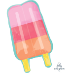 SuperShape Just Chillin' Popsicle Foil Balloon P35 Packaged 45cm x 76cm