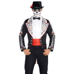 Top Hat Day of the Dead One Size