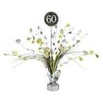 Spray Centrepiece 60 SparklingCelebration - Silver & Gold