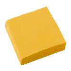 20 Napkins Sunshine Yellow 25 x 25 cm