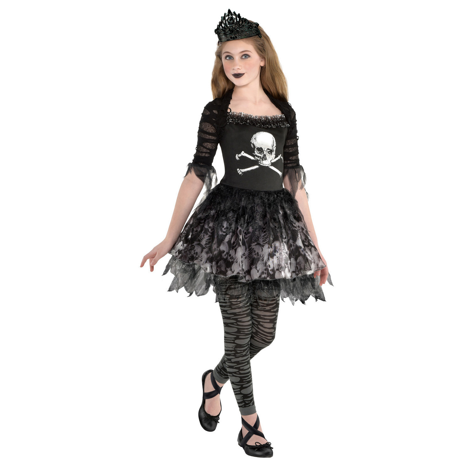 Child Costume Prima Zomberina Age 10 , 12 Years  Amscan Europe