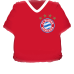 Foil balloon Supershape - Jersey FC Bayern Munich,  P38 Packaged  60 x 55 cm