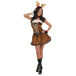 Ladies' Costume Miss Vixen Size M