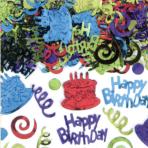 Confetti Happy Birthday Multicolour Foil 70 g