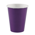 8 Cups Paper Purple 266 ml