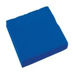 20 Napkins Bright Royal Blue 33 x 33 cm