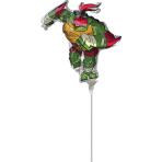 MiniShape Rise Of The TMNT Raphael Foil Balloon A30 Bulk