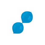 "100 Latex Balloons Decorator Standard E-Link Bright Royal Blue 15 cm / 6"""