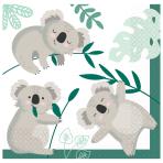 16 Napkins Koala 33 x 33 cm