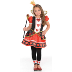 Child Costume Queen of Hearts Age 4 - 6 Years