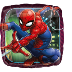 """Standard """"Spider-Man Animated"""" Foil Balloon Square , S60, packed,"""