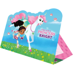 8 Invitations & Envelopes Nella The Princess Knight Paper 10.7 x 14.8 cm