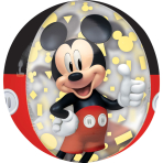 Orbz Mickey Mouse Forever Foil Balloon G40 packaged 38cm x 40cm