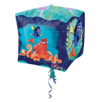 "Cubez ""Finding Dory"" Foil Balloon G40 packed, 38 x 38 cm"
