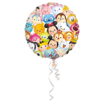 "Standard ""Tsum Tsum"" Foil Balloon Round, S60, packed, 43 cm"