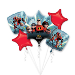"Bouquet ""Incredibles 2""  Foil Balloon P75 Packaged"