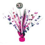 Spray Centrepiece 30 Sparkling Celebration - Pink Foil / Paper 45.7 cm