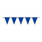 Pennant Banner Bright Royal Blue Plastic 1000 x 32 cm