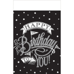Tablecover Hooray It's Your Birthday Plastic 137 x 243 cm