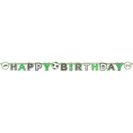 1 Letter Banner Kicker Party  Happy Birthday 200 x 15 cm