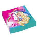 20 Napkins Barbie - Dreamtopia 33 x 33 cm