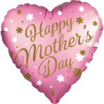 Jumbo Satin Infused Mothers Day Foil Balloon P32 Packaged 71cm x 71cm