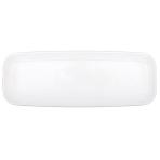 Platter Plastic White 44.5 x 16.5 cm